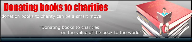 Donating books to charities