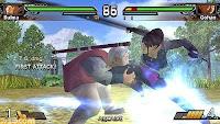 Primeras imagenes del videojuego de DragonBall Evolution Para Psp de momento 15