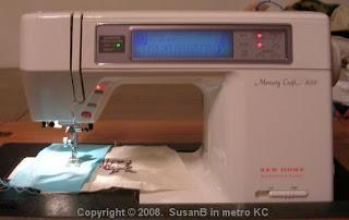 Memory Craft 8000 sewing machine