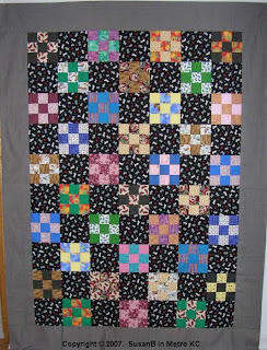 9-patch quilt