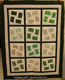 tilted blocks quilt