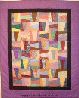 Wacky Rail Fence quilt