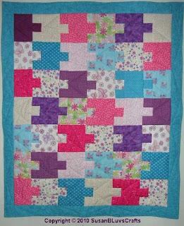 Sandy's Puzzle Quilt