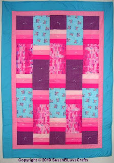 Jodie's Strippy Quilt