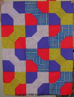 bow tie quilt top