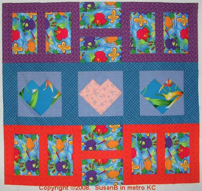 quilt top from scraps and orphan blocks