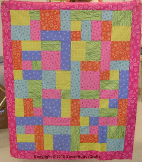 Yellow Brick Road quilt top