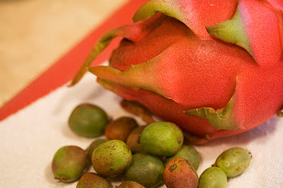 Dragon Fruit and Kiwi Berries