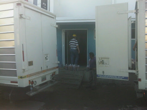 Transvanca moviliza ayuda a damnificados en Miranda Dic 2010