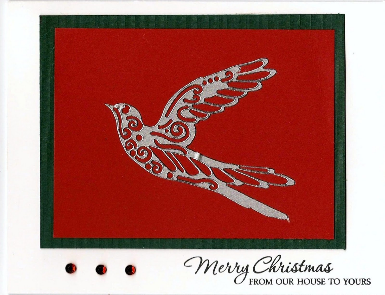 Jamiegee\'s Creative Corner: Christmas cards for the troops....
