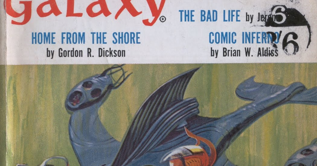 December 1963 GALAXY Science Fiction Magazine Original Short Stories Novelets