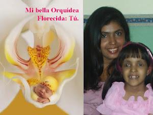 Mi bella Orquìdea Florecida