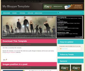 Magasin seis Blogger Template