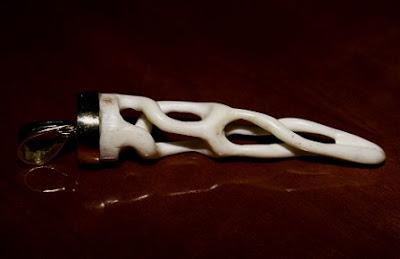 artesania+hueso+collar+trenzado+