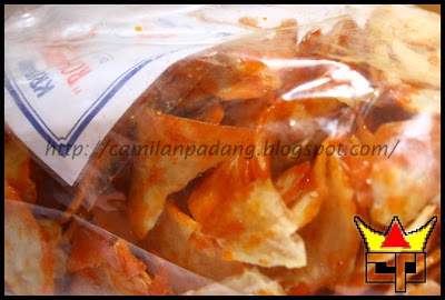 Camilan Padang KRIPIK BALADO (BULAT) (Close Up)