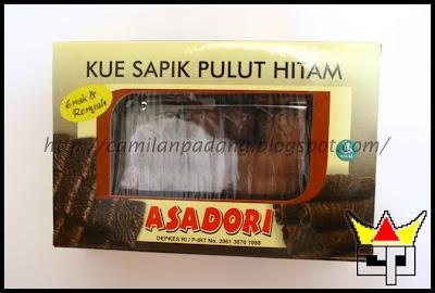Camilan Padang KUE SAPIK PULUT HITAM