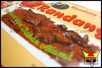 Camilan Padang RENDANG PARU (YO RANDANG) (Close Up)