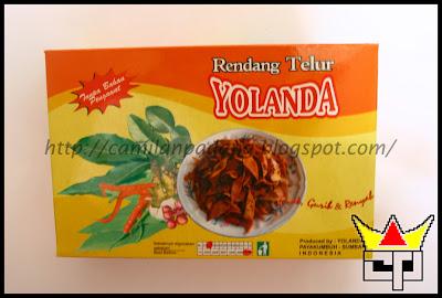 Camilan Padang RENDANG TELUR (YOLANDA)