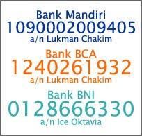 Pembayaran/Payment Info