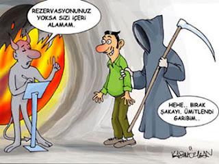Komik azrail ve ölüm karikatürleri
