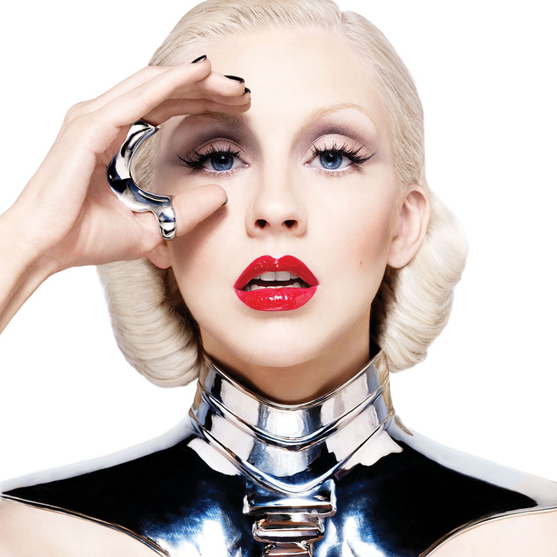 beautiful christina aguilera album cover. New Christina Aguilera Promo