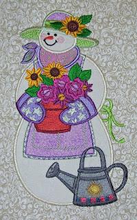June Snowman