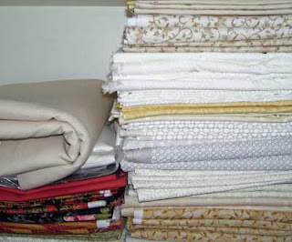Fabric stack number 2 - whites/off-whites