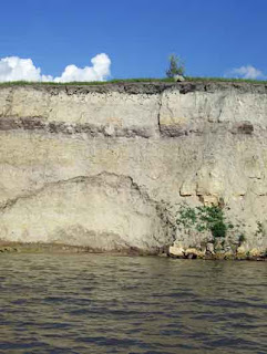 A beautiful view of one of the cliffs