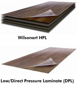 Home plus floors matter all laminate flooring is not the same for High pressure laminate flooring
