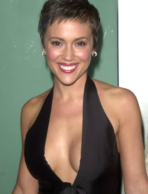 Sexy and hot Alyssa Milano