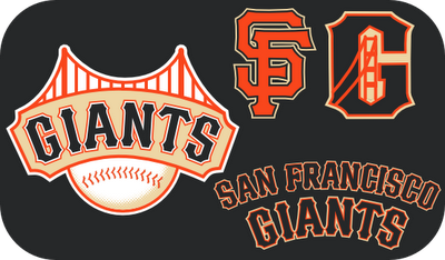 sports logo spot may 2010 San Francisco Giants Lettering Font SF Giants Alphabet