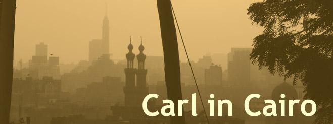 Carl in Cairo