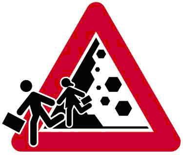 pericolo di crollo studenti