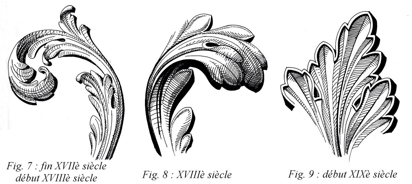 Le lexique de la galerie berger - Feuille d acanthe ...