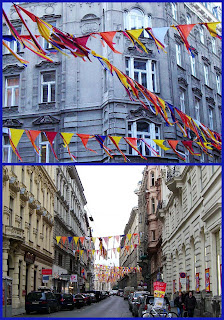Teinfaltstraße, decorated (onemorehandbag)