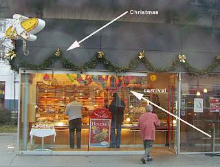 Christmas meets carnival (onemorehandbag)