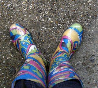 funky wellies (onemorehandbag)
