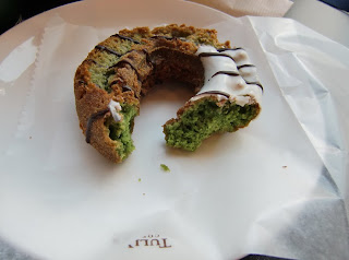 matcha donut (onemorehandbag)