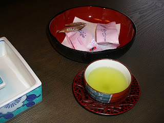 Japanese tea (onemorehandbag)