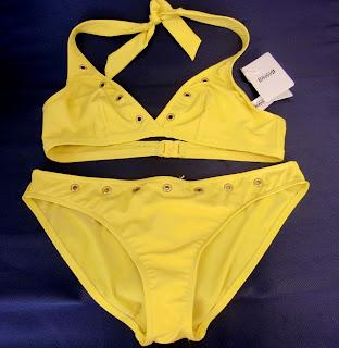 yellow Wolford bikini (onemorehandbag)