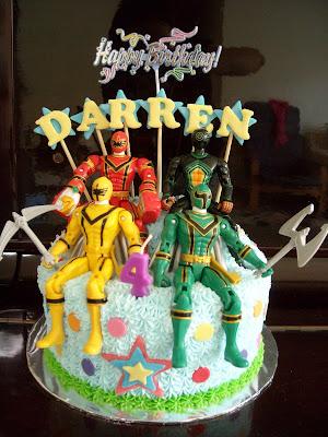 Power Ranger Cakes