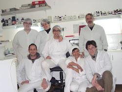 Luciano, Luis, Matias, Omar, Azucena, Jesica y Emma, y Juani Rodriguez