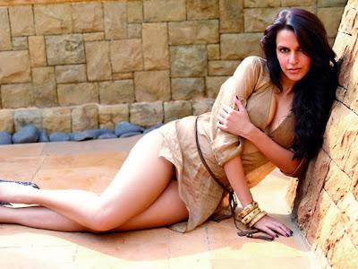 Neha Dhupia thighs