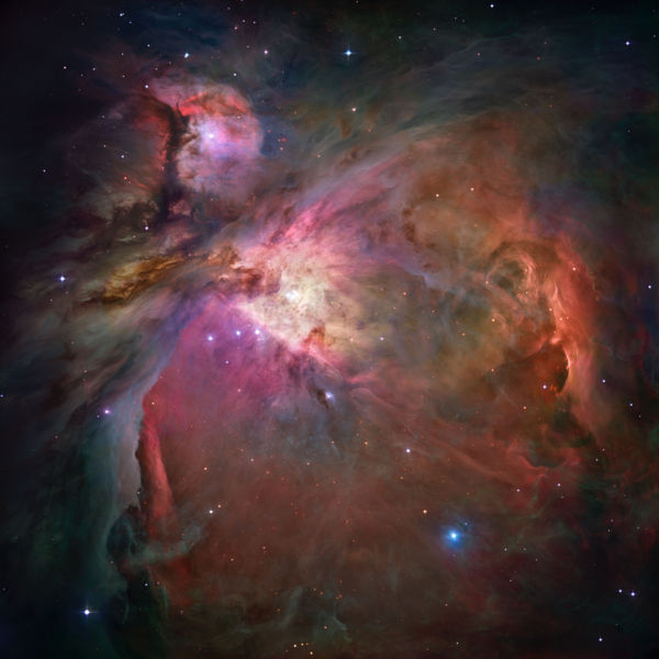 Orion Nebula: View from the Hubble