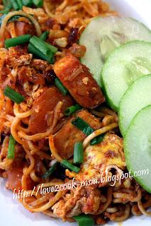 Love2cook Malaysia Maggi Goreng Pedas