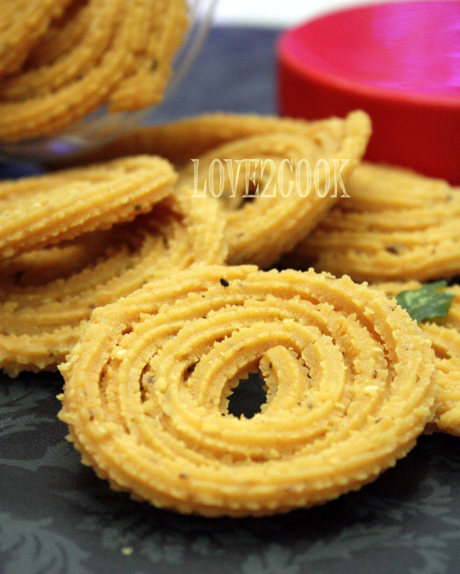 Recipe For Babas Murukku