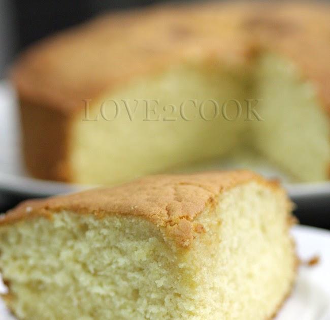 Simple Butter Cake Recipe Malaysia