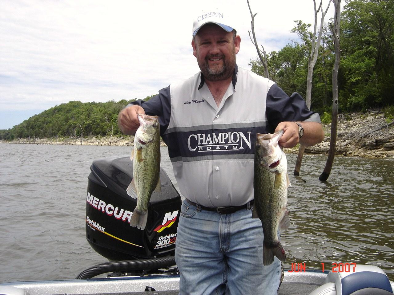 Inside bass fishing pro staff for Missouri bass fishing