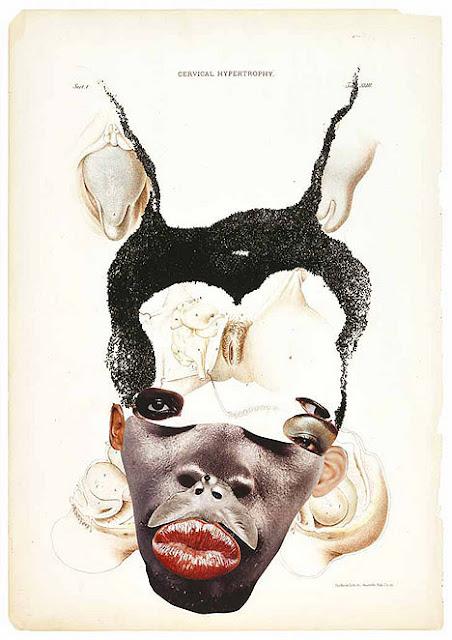 Artist: Wangechi Mutu, Cervical Hypertrophy