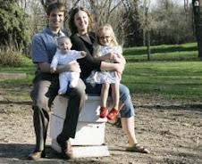 Kevin, Kai (8 months), Lenae & Neva (3.5 years)